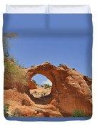 Window Rock Arizona Duvet Cover by Christine Till