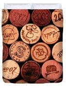 Wine corks Duvet Cover by John Stuart Webbstock