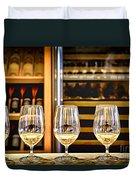 Wine Tasting  Duvet Cover by Elena Elisseeva