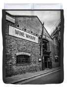 Wine Warehouse Duvet Cover by Heather Applegate