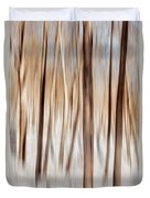 Winter Abstract Duvet Cover by Bill Wakeley