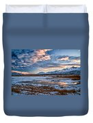 Winter Afternoon Duvet Cover by Cat Connor