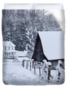 Winter in Virginia Duvet Cover by Benanne Stiens