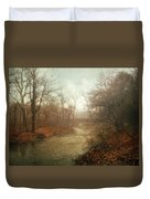 Winter Mist Duvet Cover by Jessica Jenney