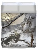 Winter Morning Duvet Cover by Bill Wakeley