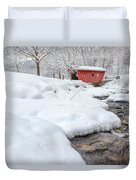 Winter Stream Duvet Cover by Bill Wakeley