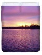 Winter Sunrise Duvet Cover by JOHN TELFER