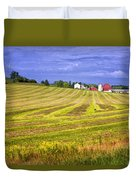 Wisconsin Dawn Duvet Cover by Joan Carroll