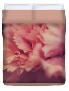 With A Fluttering Heart Duvet Cover by Laurie Search