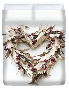 With Love Duvet Cover by Anne Gilbert