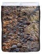 Wolf Creek Upstream Duvet Cover by Omaste Witkowski