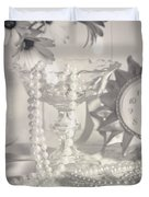 Womans Dressing Table Duvet Cover by Amanda And Christopher Elwell
