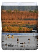 Wonderful Wetlands Duvet Cover by Al Powell Photography USA