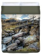 Wooden Bridge Duvet Cover by Adrian Evans