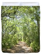 Woodland Path Duvet Cover by Glennis Siverson