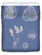 Woodsia Lanosa Duvet Cover by Aged Pixel