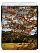 Woodstock Vermont Duvet Cover by Edward Fielding