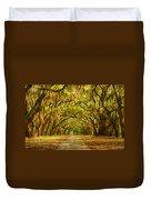 Wormsloe Plantation Oaks Duvet Cover by Priscilla Burgers
