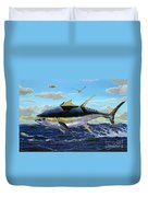Yellowfin Crash Off0081 Duvet Cover by Carey Chen