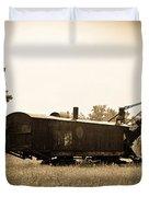 Yesteryear Duvet Cover by Rhonda Barrett
