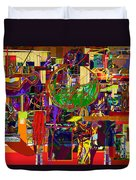 You Saw No Picture 11 Duvet Cover by David Baruch Wolk