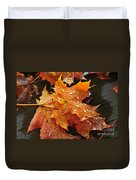 You Waited For Me To Fall Duvet Cover by Catherine Reusch  Daley