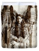 Young Kiowa Belles 1898 Duvet Cover by Unknown