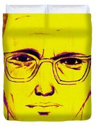 Zodiac Killer With SIgn 20130213m68 Duvet Cover by Wingsdomain Art and Photography