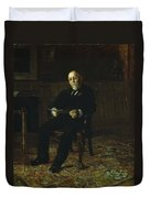 Robert M. Lindsay Duvet Cover by Thomas Cowperthwait Eakins
