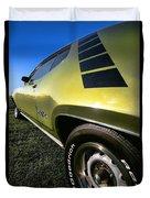 1971 Plymouth Gtx Duvet Cover by Gordon Dean II