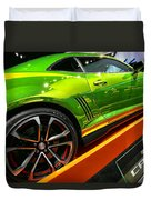 2012 Chevy Camaro Hot Wheels Concept Duvet Cover by Gordon Dean II
