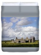 Abbeyknockmoy, Cistercian Abbey Of Duvet Cover by The Irish Image Collection