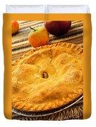 Apple Pie Duvet Cover by Elena Elisseeva