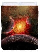 Artist Concept Illustrating The Stellar Duvet Cover by Mark Stevenson