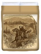 Benedict Arnold, American Traitor Duvet Cover by Photo Researchers