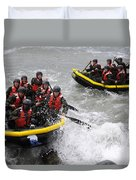 Buds Participate In Rock Portage Duvet Cover by Stocktrek Images