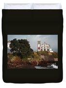 Church By The Sea Duvet Cover by Gaspar Avila
