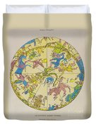 Constellations Duvet Cover by Science Source