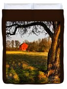 Country Life Duvet Cover by Susan Candelario