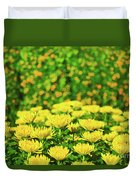 Flower Market Duvet Cover by MotHaiBaPhoto Prints
