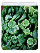 Fresh Chives Duvet Cover by Susan Herber