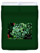 Fresh Chives Duvet Cover by Susan Herber