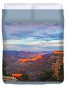 Grand Canyon Grand Sky Duvet Cover by Heidi Smith