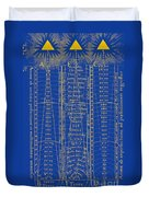Hierarchy Of The Universe, 1617 Duvet Cover by Science Source