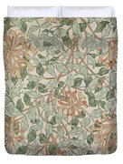 Honeysuckle Design Duvet Cover by William Morris