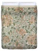 Honeysuckle Design Duvet Cover by William Morris