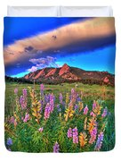 In The Moment Duvet Cover by Scott Mahon