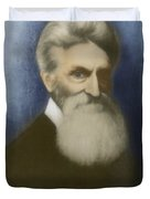 John Brown, American Abolitionist Duvet Cover by Photo Researchers