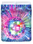 Lighting Effects And Graphic Design Duvet Cover by Setsiri Silapasuwanchai