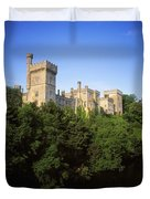 Lismore Castle, Co Waterford, Ireland Duvet Cover by The Irish Image Collection